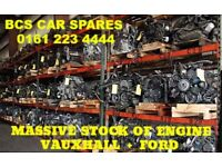 VAUXHALL ASTRA ZAFIRA CORSA INSIGNIA ENGINES PETROL DIESEL ASK 0161 223 4444