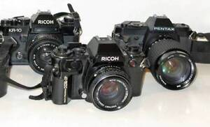 Pentax K1000 Film cameras & Lens for ,Sony E, lumix, olympus M4/3 South Yarra Stonnington Area Preview