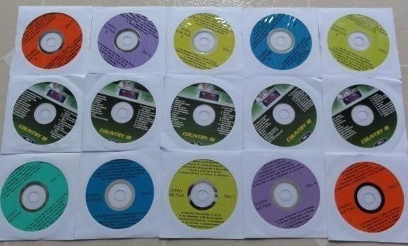 15 CDG DISCS CLASSIC COUNTRY KARAOKE LOT MUSIC MAESTRO GOLD (295 SONGS) CD+G
