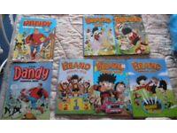 5x Beano Annuals 2x Dandy Annuals