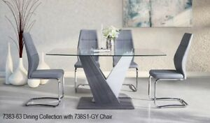Stylish,Classy,and Affordable dining table, 6 chair