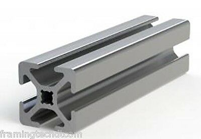 1 X 1 Aluminum T-slotted Extrusion Framing Material 72 Long Slot Code 26 1010