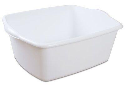 Dish Pan (Sterilite Dish Pan, 18 quart Heavy Duty, Quick Free)