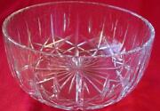Cut Glass Fruit Bowl