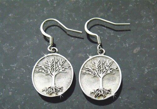 Tree of Life Earrings in 316 L Stainless Steel