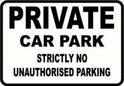 Car Park No Liability Disclaimer