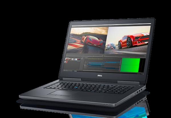 DELL PRECISION 17 M7720 i5-7300HQ upto 3.5GHz 8GB 256GB SSD FHD IPS SmartCardRdr