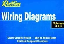 Rellim Wiring Diagrams 1992 - 2006: Volumes 3 & 4 (Combined) Blacktown Blacktown Area Preview