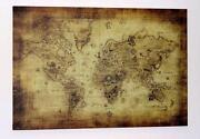 Weltkarte Antik