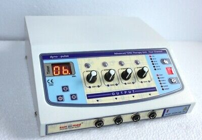 Physiotherapy Home Use Electrotherapy 4 Channel Multi Therapy Pulse Massager Uni
