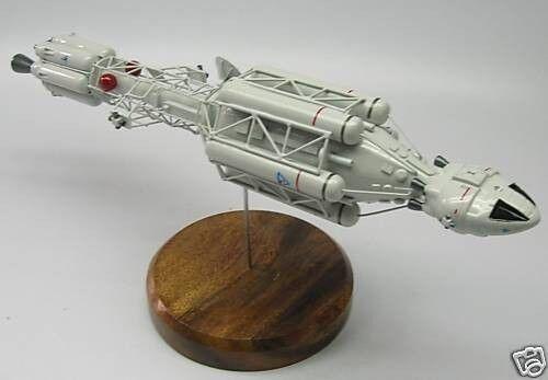 Ultra Probe Space 1999 Spacecraft Desktop Wood Model Small New