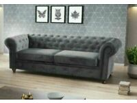 ☝️BEAUTIFUL SALE🤩CHESTERFIELD 3+2 & CORNER SOFA☝️AVAILABLE IN STOCK☝️