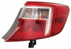 2012-2014 Toyota Camry Tail Light Passenger Side