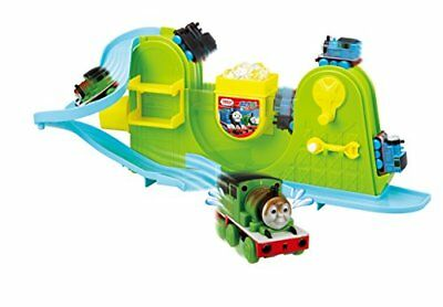 Ofuro DE minicar Thomas the Tank Engine Thomas & Percy set from JAPAN NEW