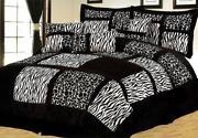 Zebra Bedding Queen