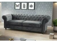 💕💕BRAND NEW LUXURY CHESTERFIELD 3+2 SEATER SOFA ON CLEARANCE SALE 🤍🤍