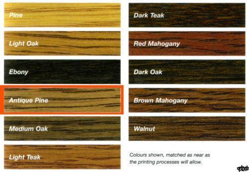Rustins Wood Dye Ebay