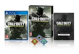 Call Of Duty: Infinite Warfare Standard Edition w/ Extra Content and Pin Badges  PS4