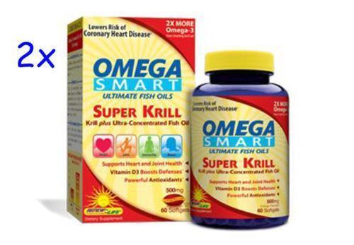 Omega smart super krill ebay for Mega red fish oil