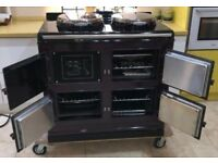Range Cooker Aga Total control 3 Oven Superb Condition