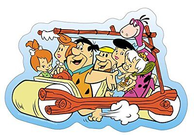 Bam Bam Cartoon (The Flintstones Family Car STICKER - Fred Pebbles Bam Cartoon Decal)