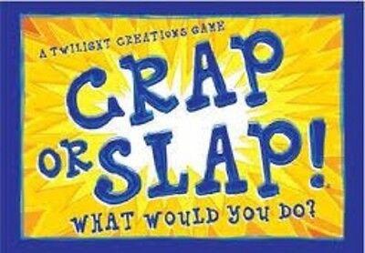 Crap oder Slap Spiel Neu & Ovp Billig