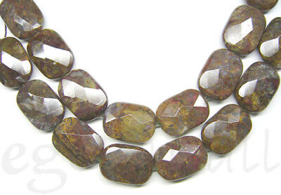 8 Pietersite Flat Rectangle Beads 18x25 Faceted (Faceted Flat Rectangle Beads)