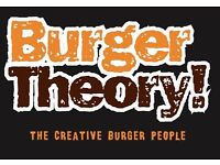 Burger Theory is hiring waiting staff for our new restaurant.