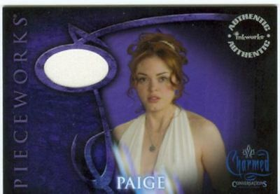 CHARMED - CONVERSATIONS - ROSE MCGOWAN AS PAIGE PIECEWORK - PWCC3