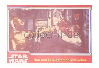 Topps Journey to Star Wars Nr. 72 - Han und Leia kommen sich näher ()