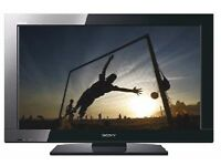 "Sony KDL-40BX400 - 40"" BRAVIA LCD TV - Widescreen - 1080p (FullHD) - Polished Black"