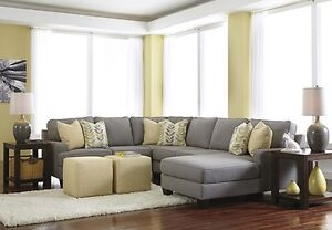 Gray sectional couch for sale