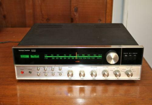harman kardon 930 vintage stereo receivers ebay. Black Bedroom Furniture Sets. Home Design Ideas