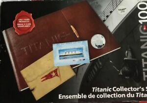 2012 Titanic 100 Collector Coins And Stamp Set - RCM
