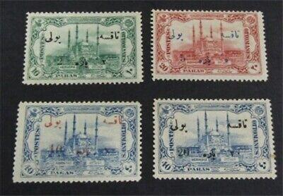 nystamps Turkey Stamp # J59-J62 Mint OG H $49   L23y1240