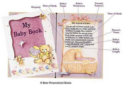 My Baby Book  © Best   (Personalized Baby Book), FREE FAST SHIP! GREAT - Personalized Baby Bible
