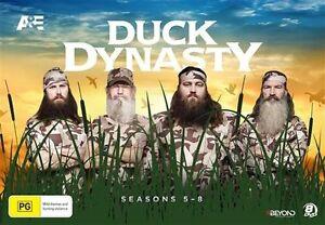 Duck Dynasty : Season 5-8 (DVD, 2016, 8-Disc Set) BRNAD NEW REGION 4
