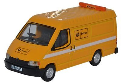 British Ford Transit Automobile Association Van 1:76 OO Oxford Die-cast 76FT3004