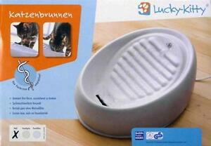 Trinkbrunnen Katzentränke Keramik Wasserspender ~ Lucky Kitty ~Vorführmodell