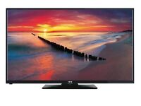 50 inch 1080p HD LED television tv with built in freeview HD - tesco brand ISIS in black