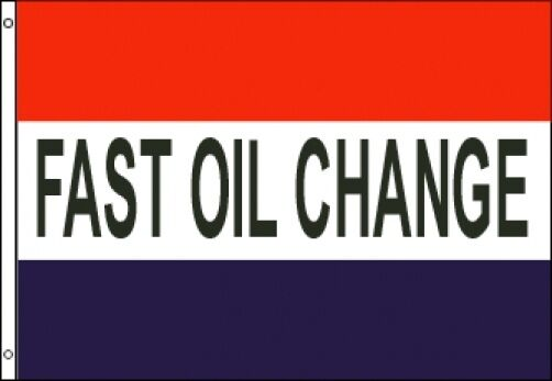 3x5 Fast Oil Change Flag Business Advertising Sign Banner Outdoor Car Mechanic