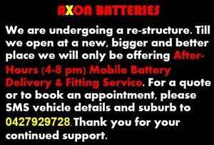 Axon After-Hours (4-8 pm) Mobile Battery Delivery and Fitting