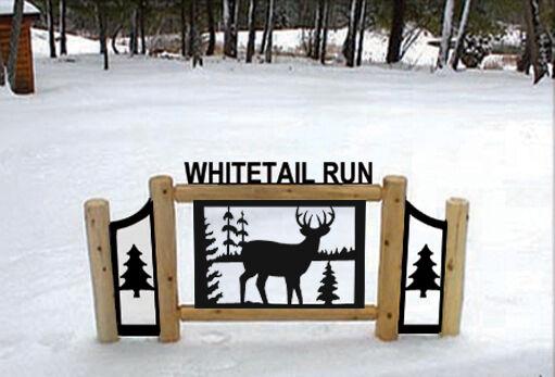 WHITETAIL DEER SIGNS - WILDLIFE ART