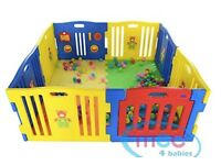 MCC Plastic Baby Playpen 8 Sides with Activity Panels
