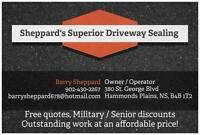 Asphalt Driveway Sealing...free quotes with great pricing!