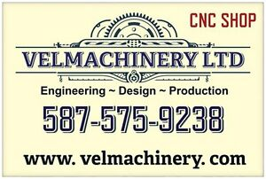 CNC MACHINE SHOP IS LOOKING FOR WORK!