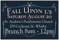 VENDORS WANTED FALL UPON US BRUNCH 20 spots left