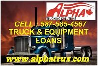 FINANCING/LEASING AND REFINANCING OF TRUCKS/HEAVY EQUIPMENT
