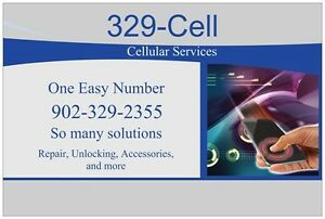 329-Cell is ..Repairs, Unlocking, Accessories, Used Phones + + +