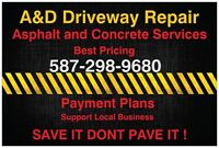 ASPHALT AND SEALCOAING BEST PRICES
